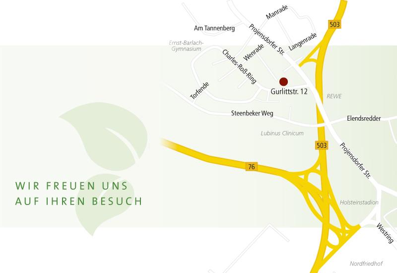 Anfahrt Tannenberg Apotheke